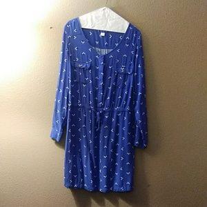 Simply Styled rayon shirtlwaist dress